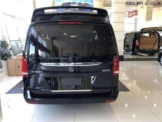 奔驰V260L平行进口车天津现车实拍图解