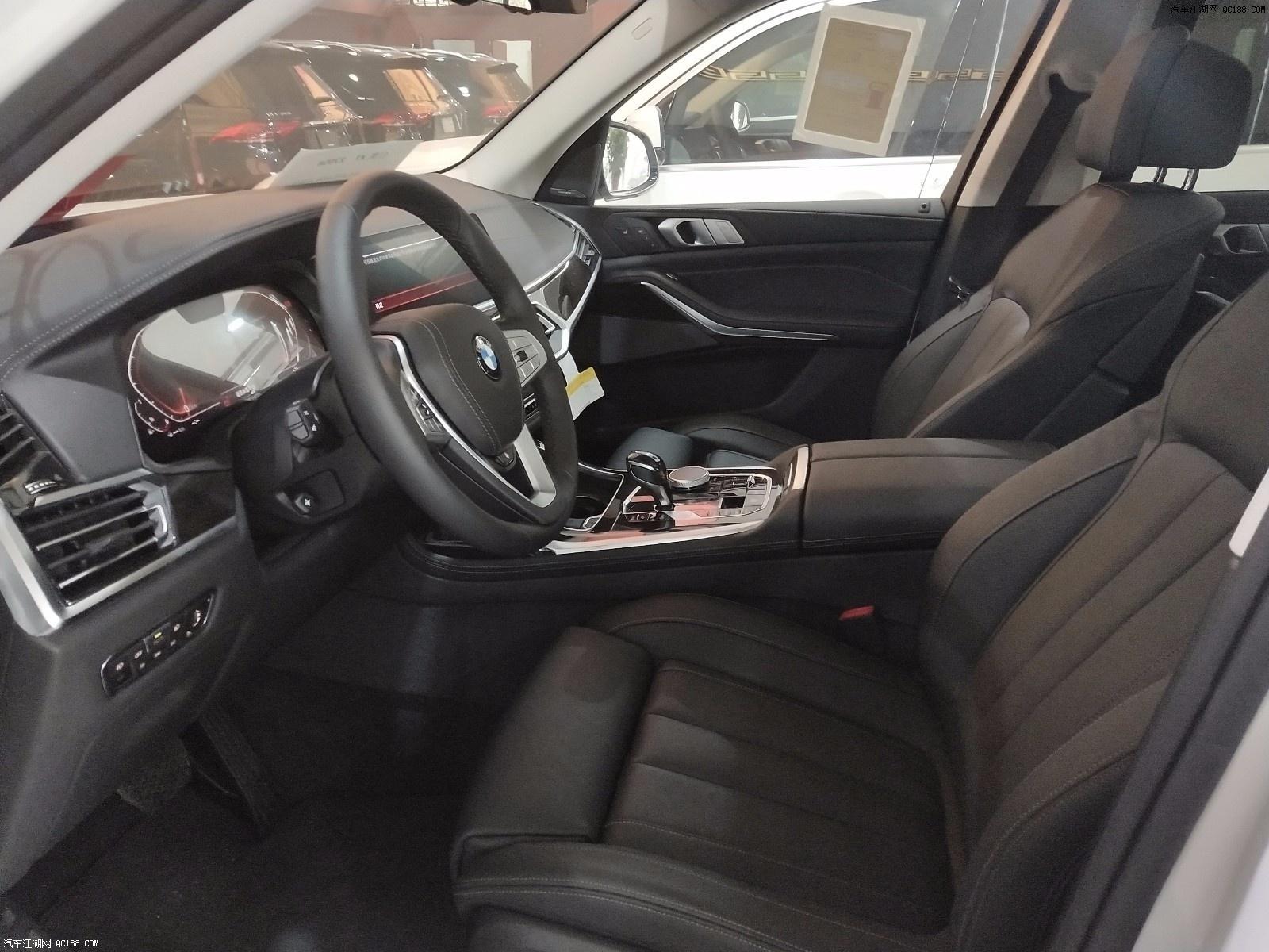 19款宝马X7六座美规版现车配置性能解读
