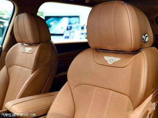 进口2020款超豪华集奢奢APPSUV宾利添越现车评测